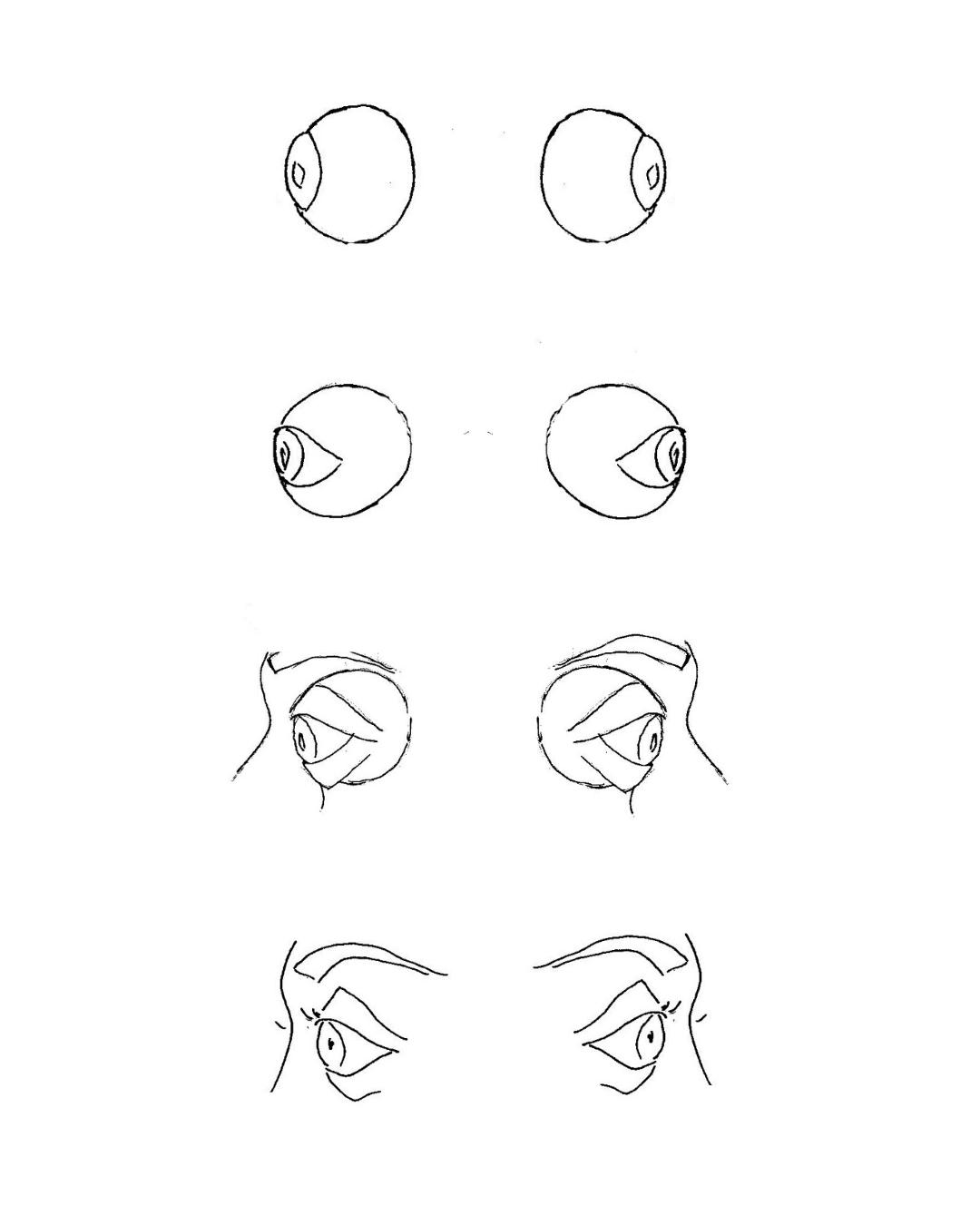 Demobild zum Augen malen