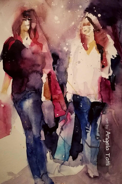 Frauen beim Shoppen