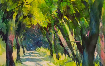Watercolor: Light and shadow